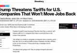 无极168_振兴经济先拿美企开刀?特朗普扬言将强征关税