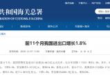 无极测速官网_中国外贸连续三个月正增长